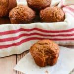 Sense & Edibility's Persimmon-Walnut Muffins