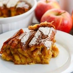 Sense & Edibility's Apple Orchard French Toast Bake