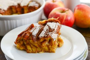 Sense & Edibility's Apple Orchard French Toast Bake