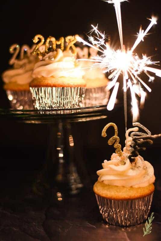 Sense & Edibility's NYE Cupcakes