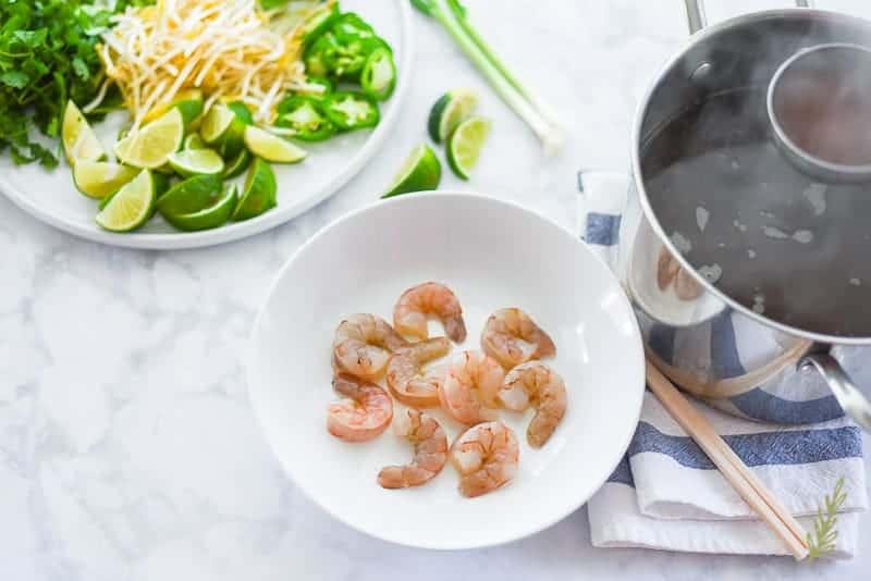 Sense & Edibility's Shrimp Pho