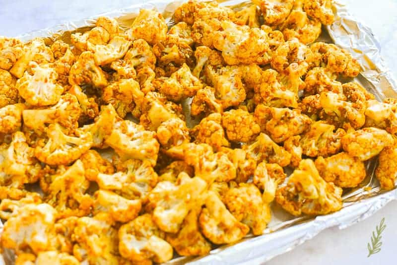 Sense & Edibility's Curried Cauliflower