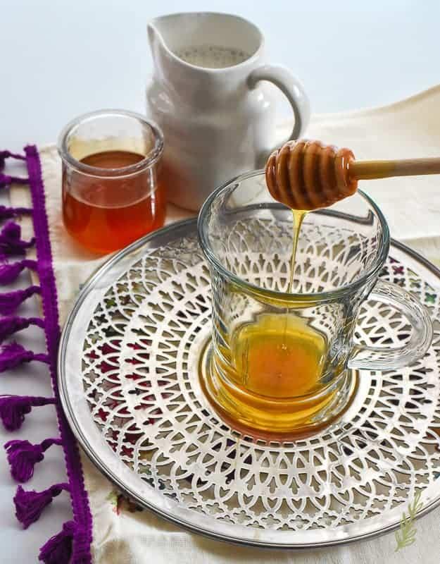 Sense & Edibility's Turmeric-Almond Milk Tea