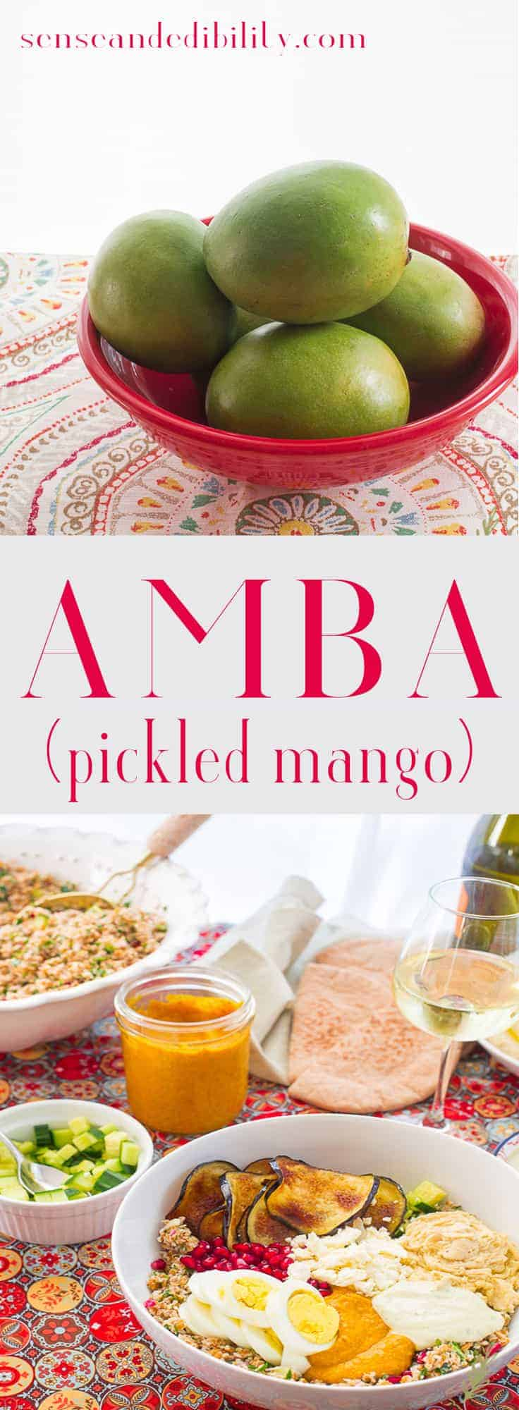 Amba Pickled Mango Chutney Vegetarian And Vegan