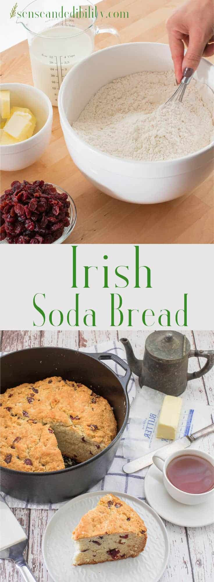 Sense & Edibility's Irish Soda Bread Pin