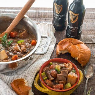 Rustic Guinness Beef Stew for St. Paddy's Dinner