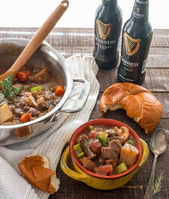 Sense & Edibility's Rustic Guinness Beef Stew