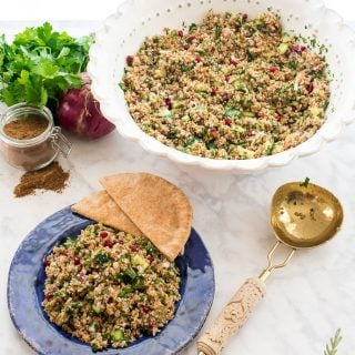Tabbouleh (Bulgur-Parsley Salad)
