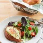 Sense & Edibility's Avocado Egg Boats
