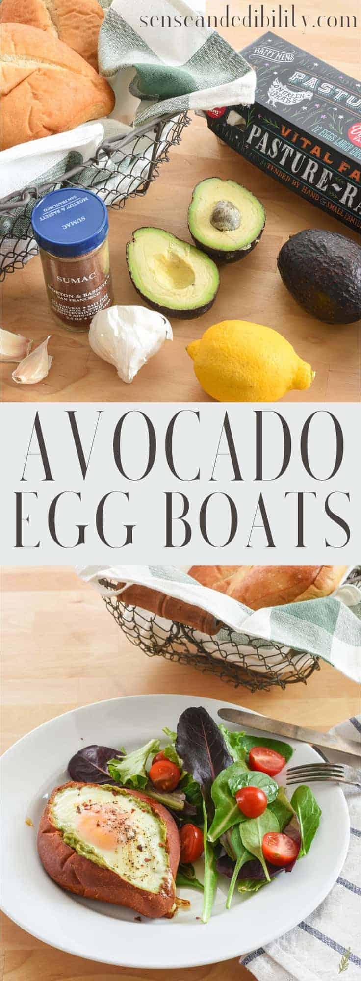Sense & Edibility's Avocado Egg Boats Pin