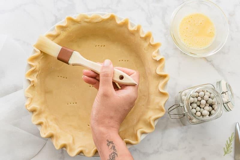 Sense & Edibility's Crème Brûlée Pie