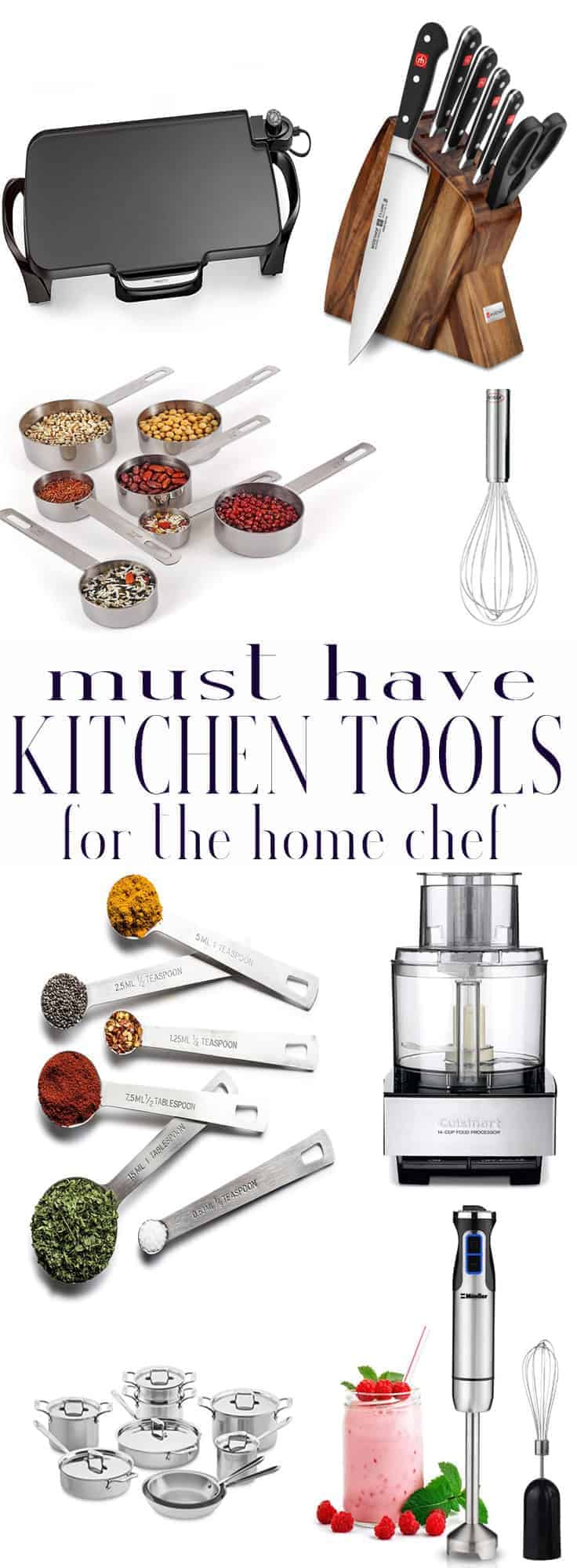 Sense & Edibility's Kitchen Must Haves