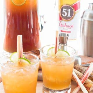 Caipirinha Cocktail (Sugarcane-Cachaça Libation)