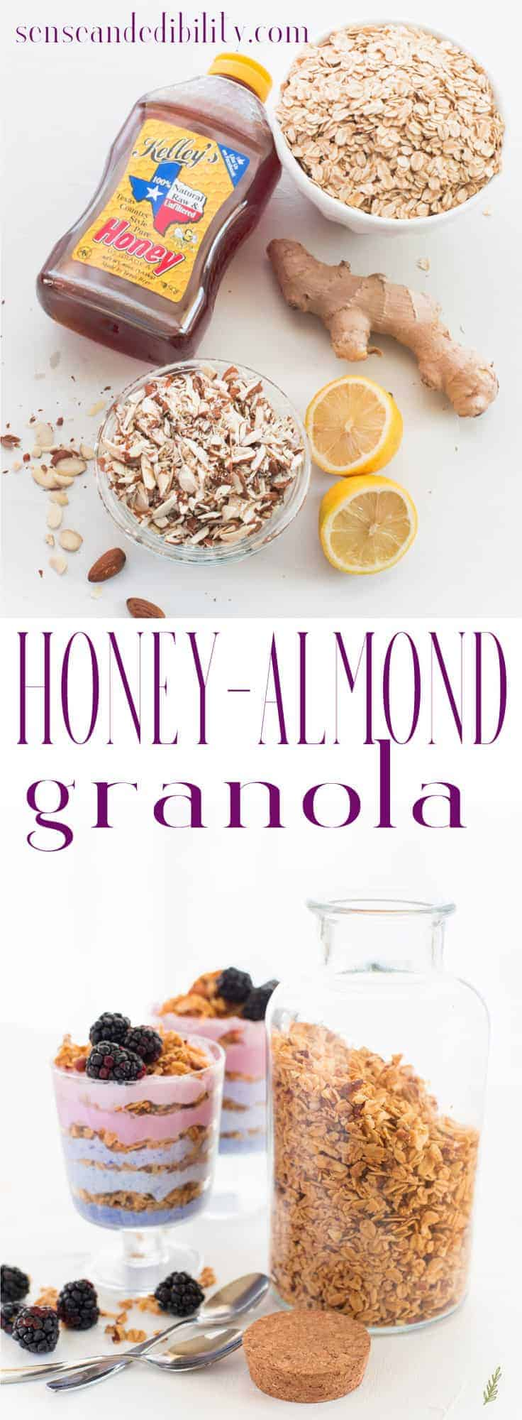 Sense & Edibility's Honey-Almond Granola Pin
