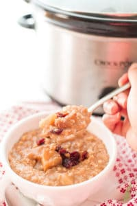 Sense & Edibility's Overnight Apple Pie Oatmeal