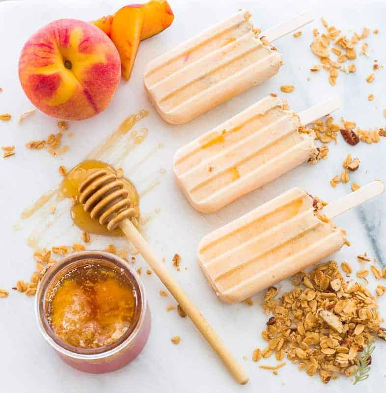 Sense & Edibility's Peachy Keen Morning Pops