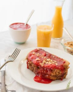 Sense & Edibility's PBJ Stuffed French Toast