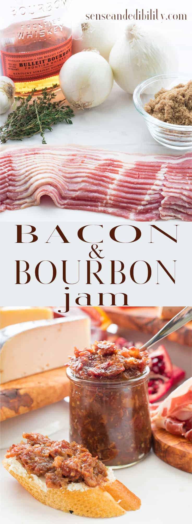 Sense & Edibility's Bacon-Bourbon Jam Pin