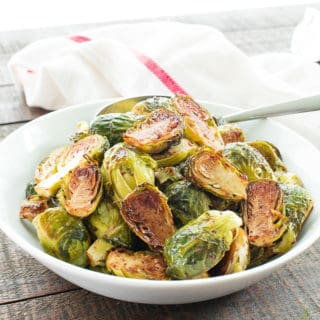 Balsamic-Rosemary Roasted Brussels Sprouts