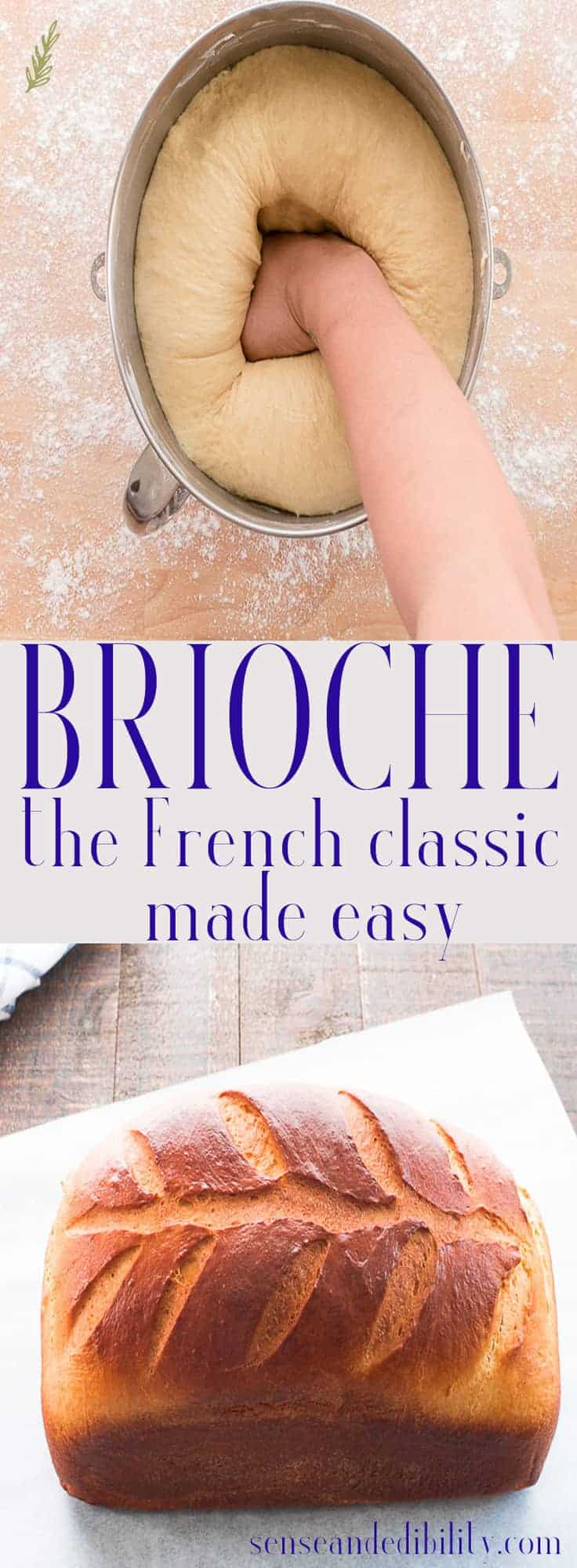 Sense & Edibility's Brioche Pin