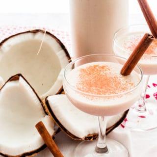 Coquito: Puerto Rican Coconut-Cinnamon Rum Cocktail
