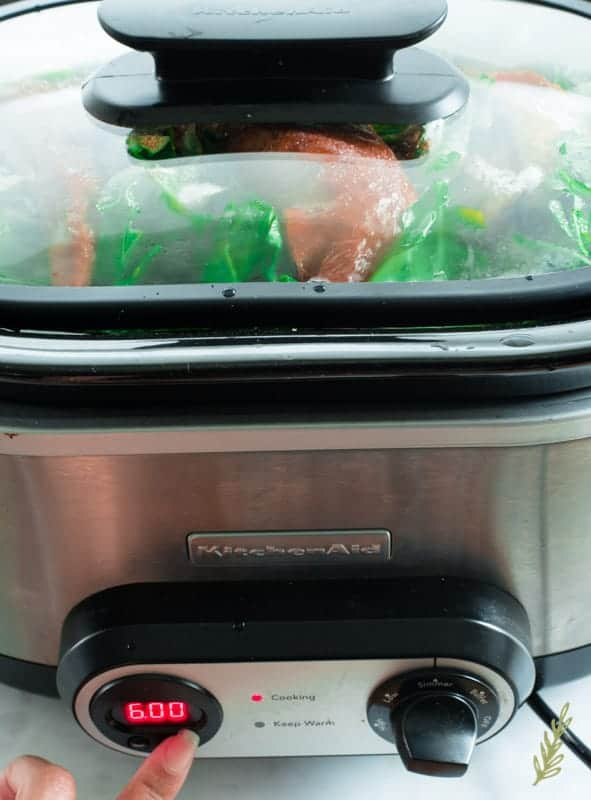 Sense & Edibility's Slow-Cooker Country Style Collard Greens