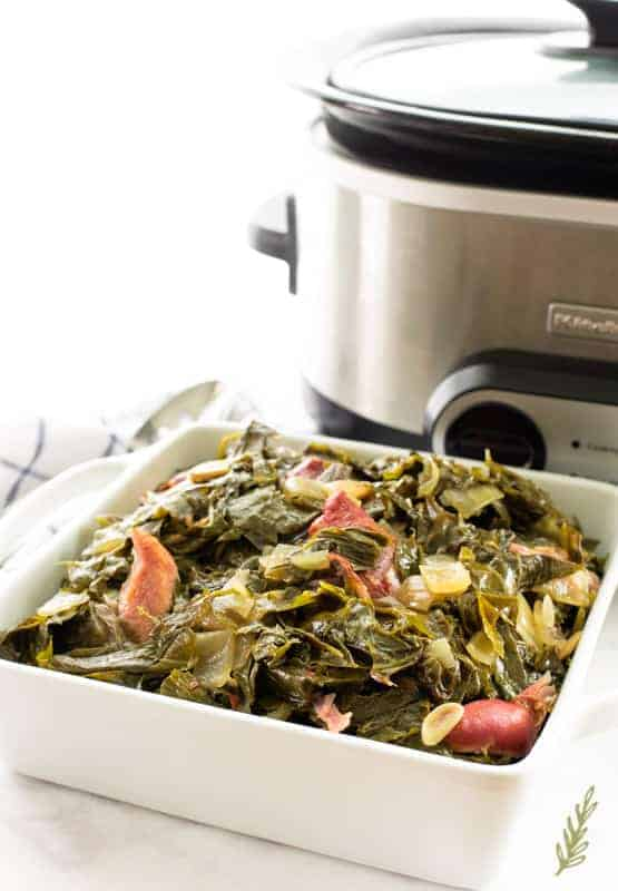 Sense & Edibility's Country Style Collard Greens