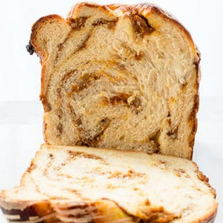 Pumpkin-Pecan Babka with Cinnamon-Maple Glaze