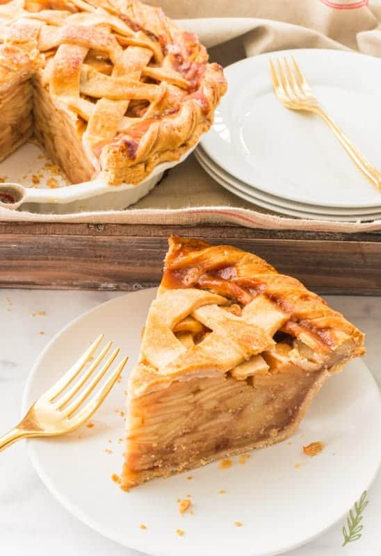 Sense & Edibility's Cinnamon-Apple Pie