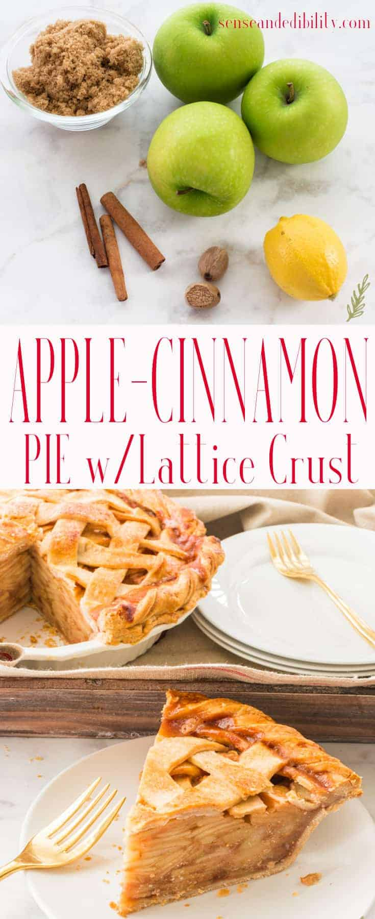 Sense & Edibility's Cinnamon-Apple Pie Pin