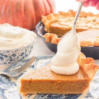Sense & Edibility's Perfectly Easy Pumpkin Pie