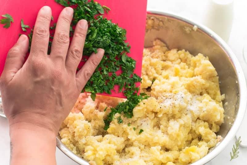 Sense & Edibility's Rustic & Rich Mashed Potatoes
