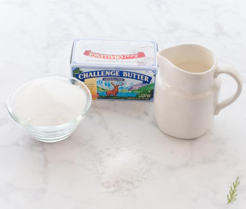 Sense & Edibility's Salted Vanilla Caramel Sauce