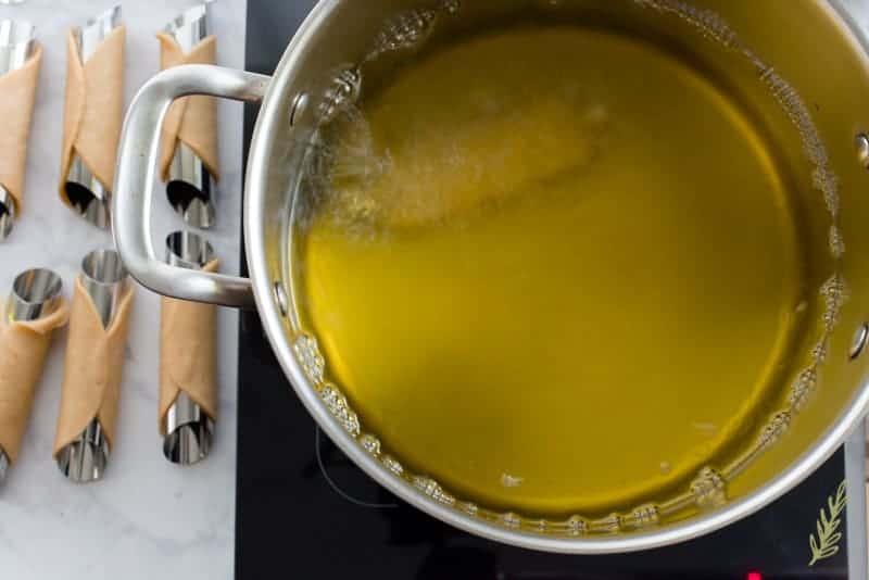 Sense & Edibility's Cannolis Three Ways