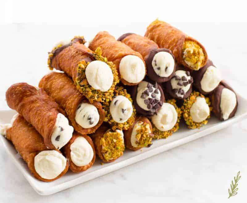 Sense & Edibility's Cannolis Three Ways