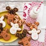 Sense & Edibility's Gingerbread Reindeer