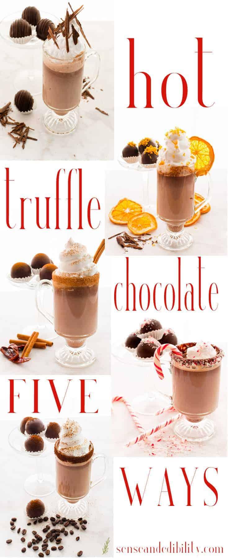 Sense & Edibility's Hot Truffle Chocolate Pin