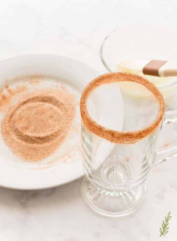 Sense & Edibility's Mexican Truffle Hot Chocolate