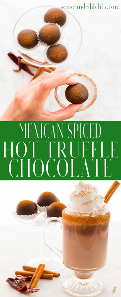 Sense & Edibility's Mexican Truffle Hot Chocolate Pin