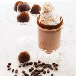 Sense & Edibility's Mocha Truffle Hot Chocolate