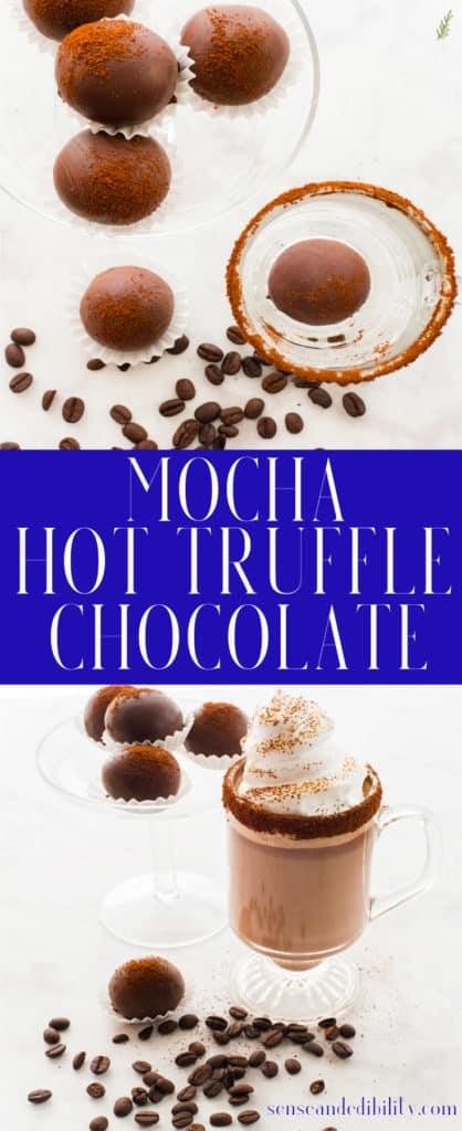 Sense & Edibility's Mocha Truffle Hot Chocolate Pin