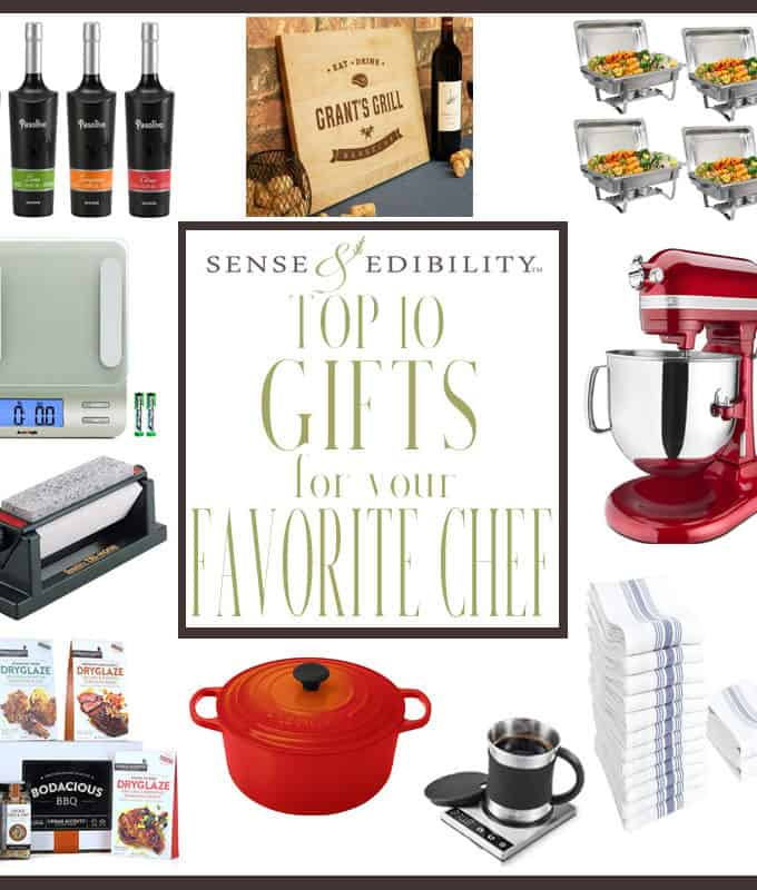 Sense & Edibility's Top 10 Gift for Chefs