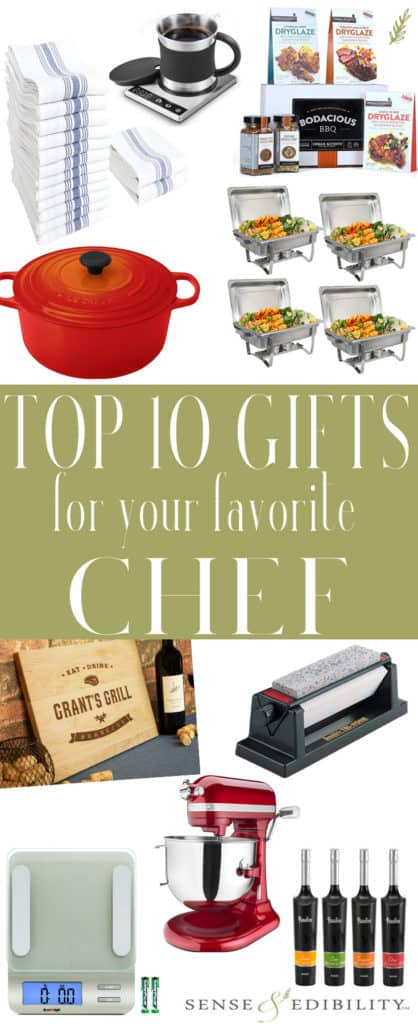 Sense & Edibility's Top 10 Gift for Chefs Pin