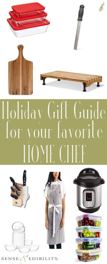 Sense & Edibility's Holiday Gift Guide: Home Chefs