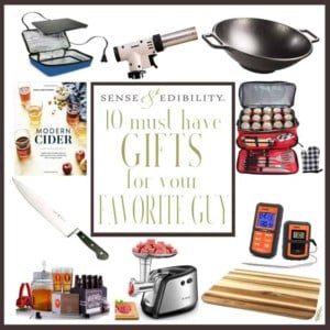 Sense & Edibility's 10 Kitchen Gifts for Guys