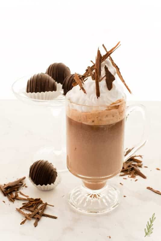 Sense & Edibility's Original Truffle Hot Chocolate