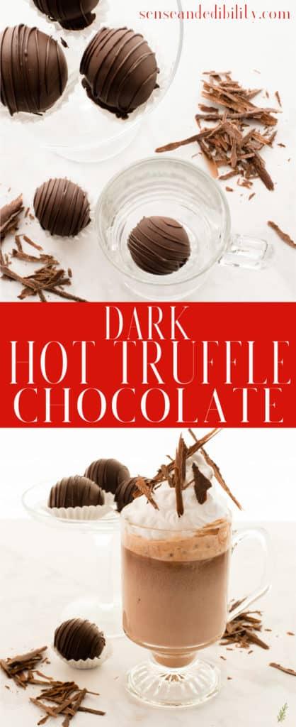 Sense & Edibility's Original Truffle Hot Chocolate Pin
