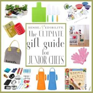 Pin for the Sense & Edibility's Ultimate Gift Guide for Your Junior Chef