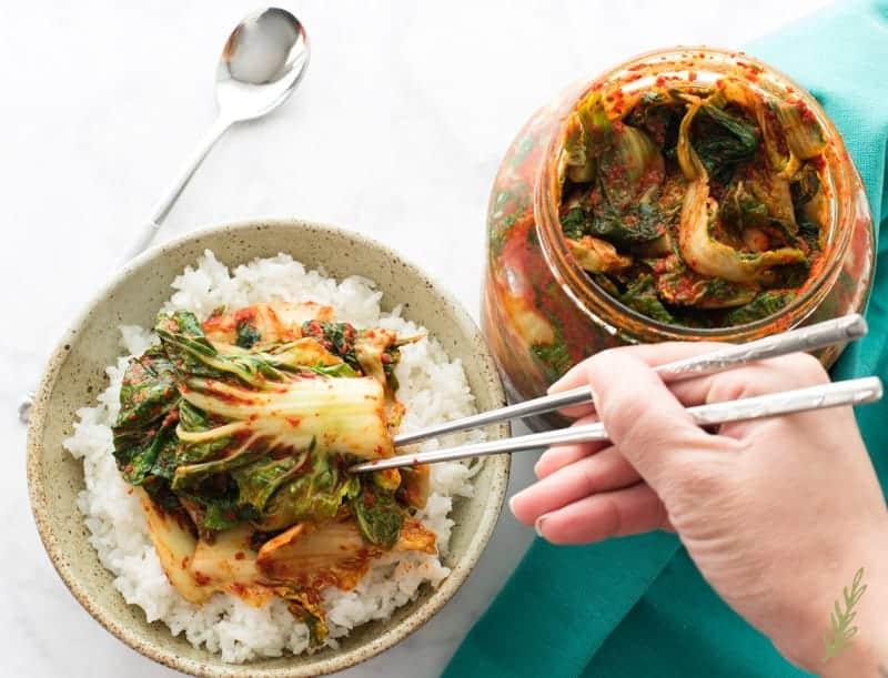 Sense & Edibility's Baechu-Kimchi (Napa Cabbage Kimchi)