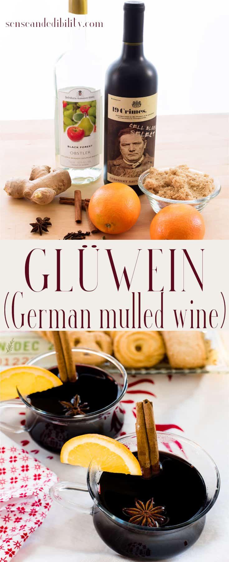 Sense & Edibility's German Glühwein Pin